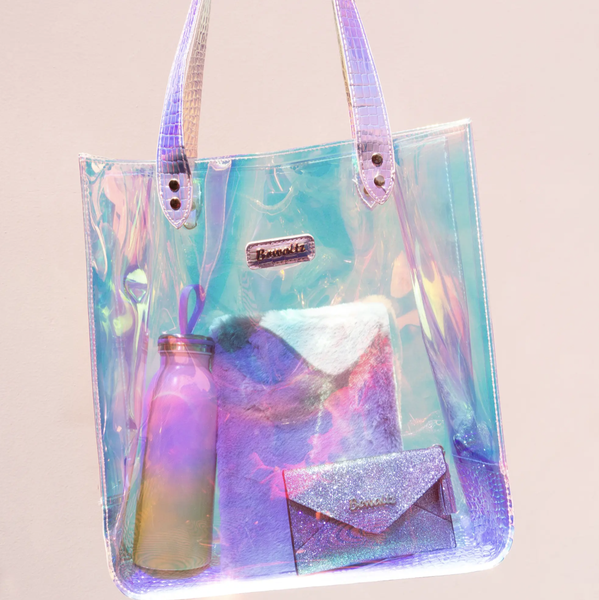 Holographic Jelly Tote