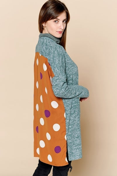 Polka Dot On My Back Cardigan