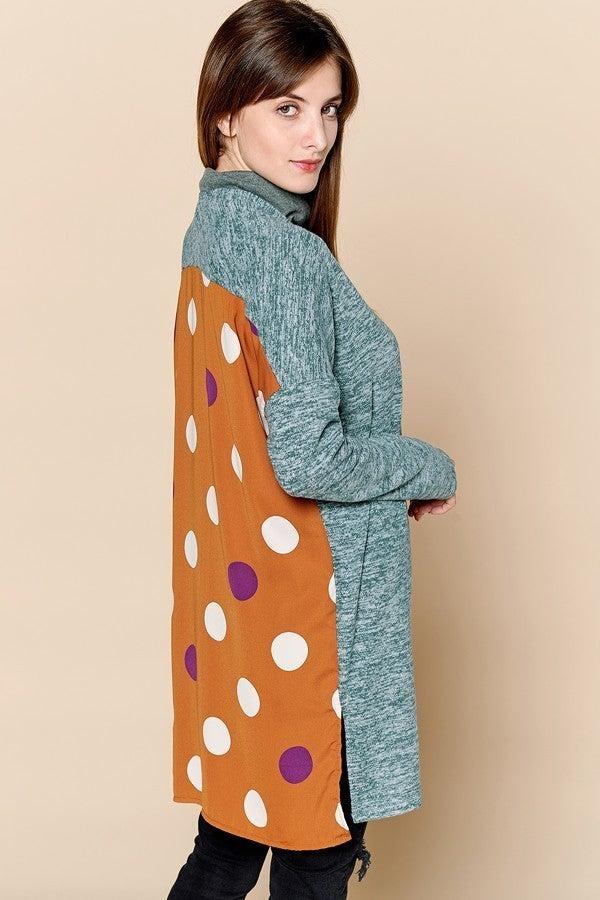 Polka Dot On My Back Cardigan