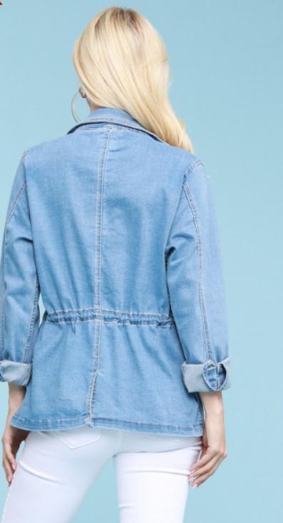 Judy Blue Denim Utility Jacket
