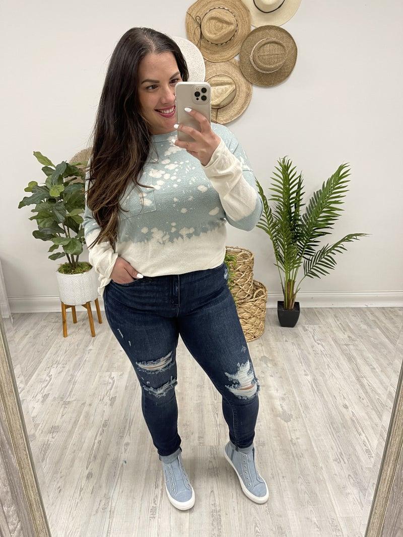 Judy Blue Adventure Awaits Skinny Jeans