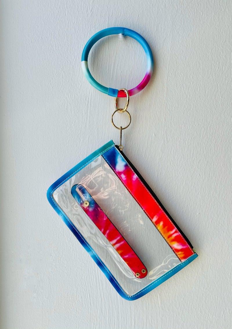 Keyring With Zip Pocket