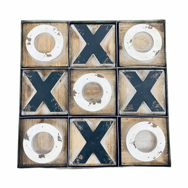 Wood Tic Tac Toe