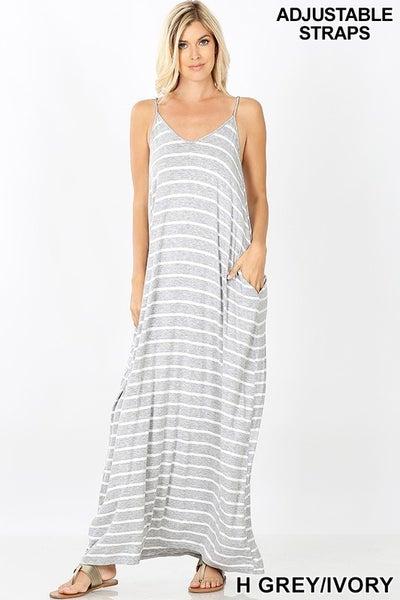 Beach Walker's Delight Maxi Dress