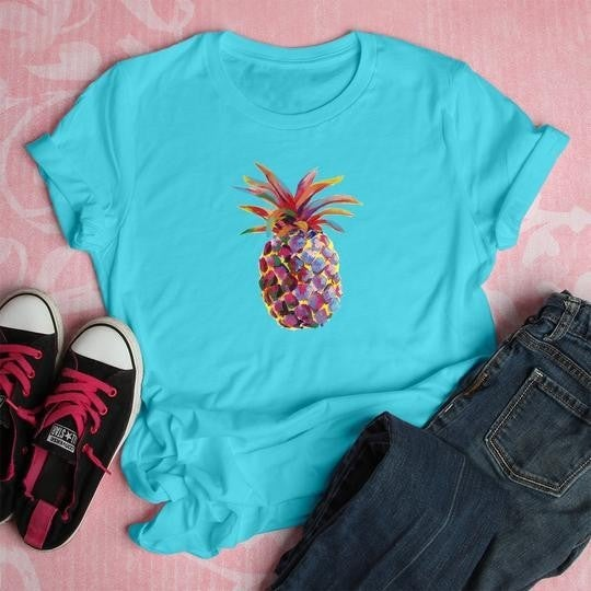 Pineapple Fun Graphic Tee