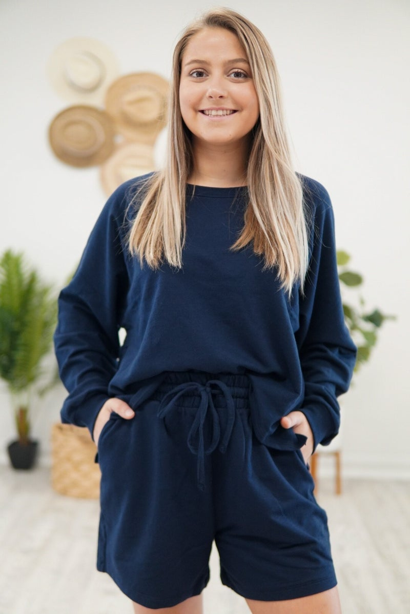 Talk French Terry To Me Loungewear Set