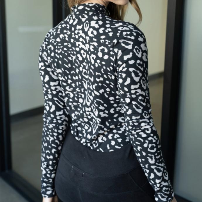 Cheetah Queen Turtleneck Bodysuit