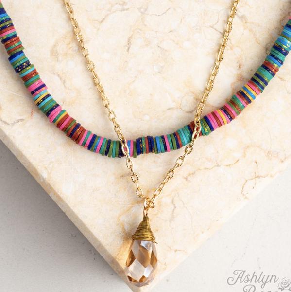 Drop Of Summer Necklace