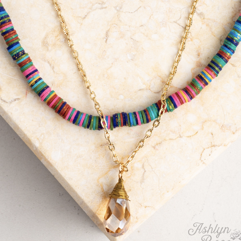 Drop Of Summer Necklace
