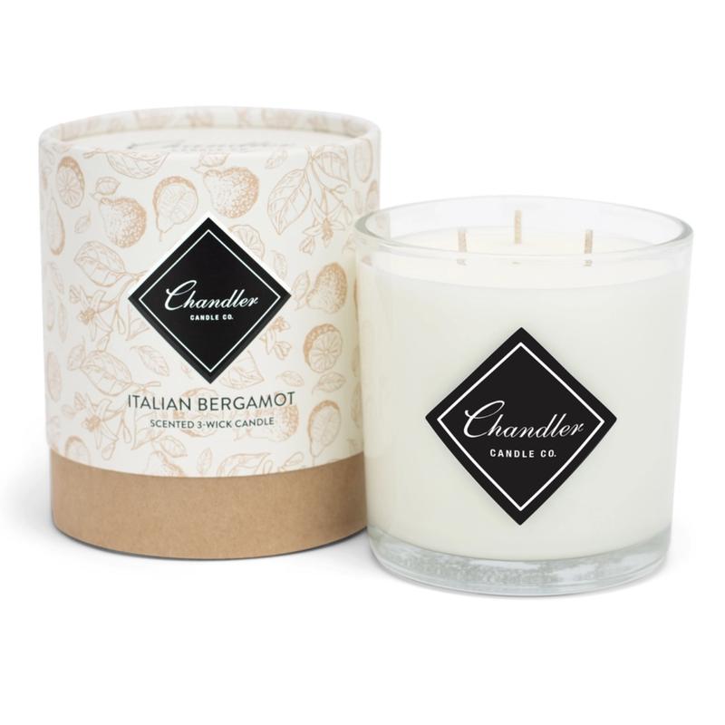 Chandler Candle Co Italian Bergamot 3-Wick Candle