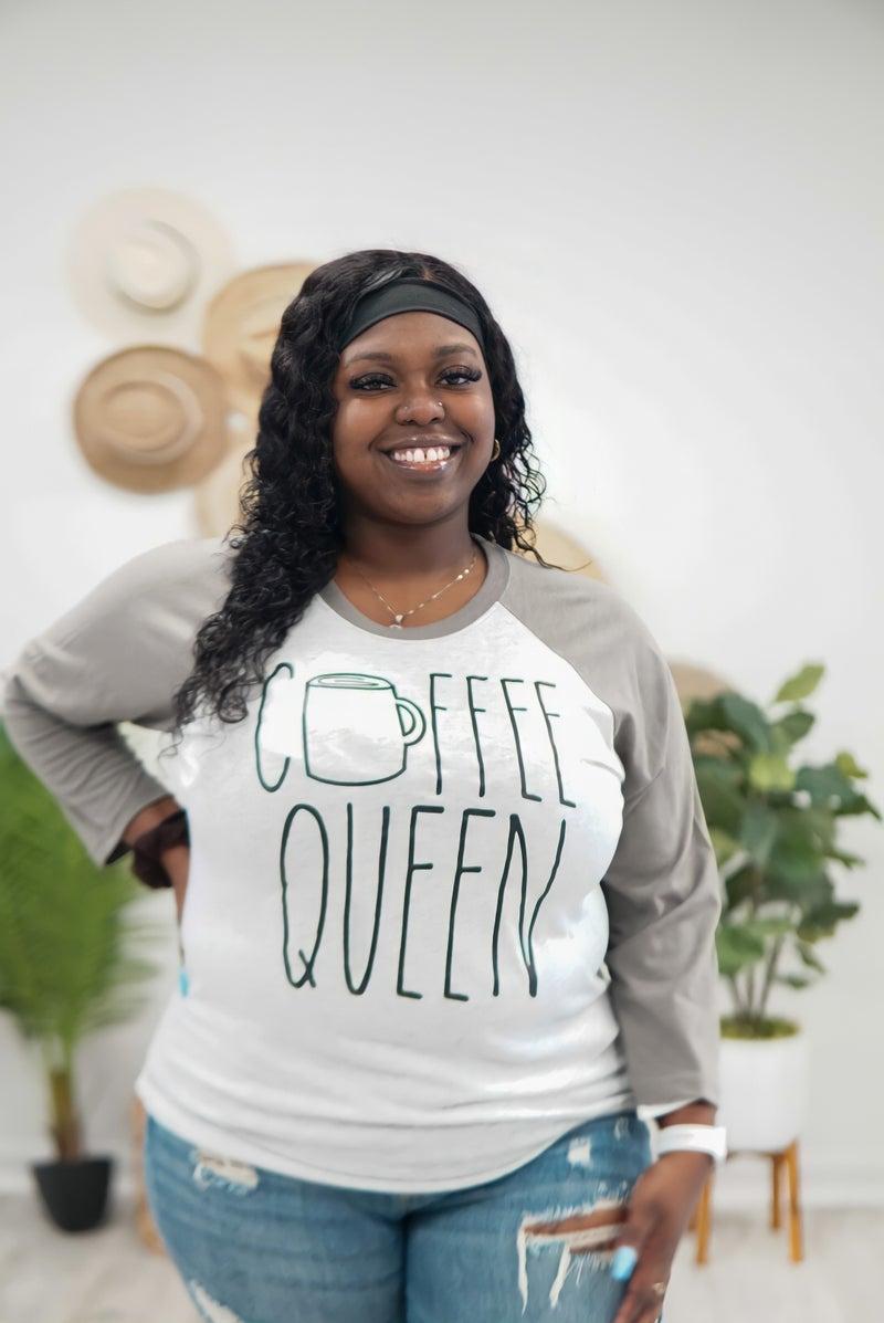 Coffee Queen Raglan Tee
