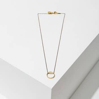 Circle Horizon Necklace