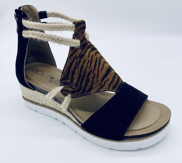 Corkys Browning Wedge Sandal