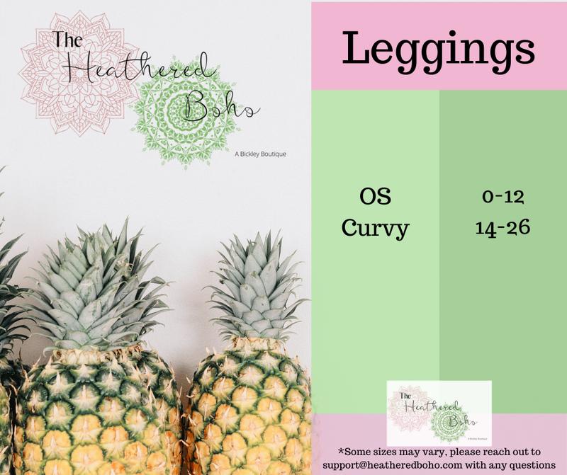 Leggings Sizing Guide
