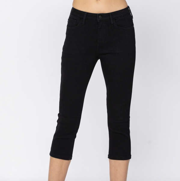 Can Do No Wrong Capris by Judy Blue