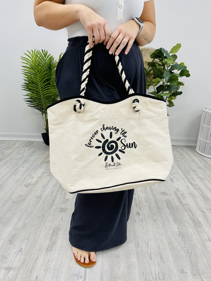 Forever Chasing The Sun Tote
