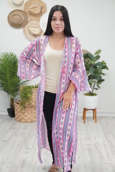 Violet Sunset Kimono