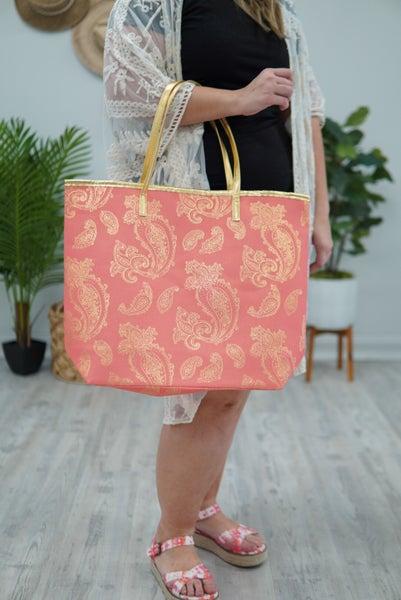 Paisley Tote Bag