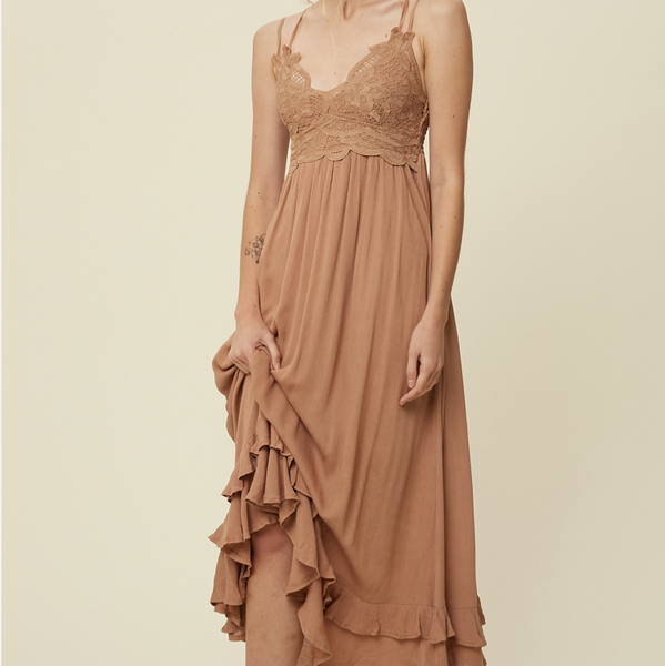 THE Boho Babe Maxi Dress