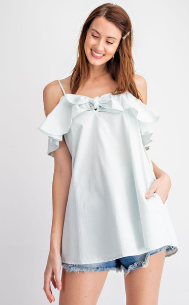 Strappy Bow Tunic Top *Final Sale*