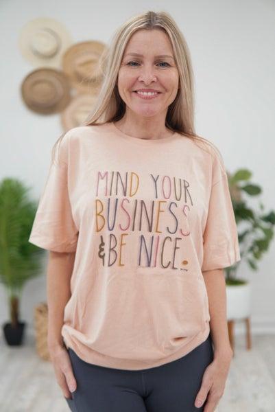 Mind Business Tee