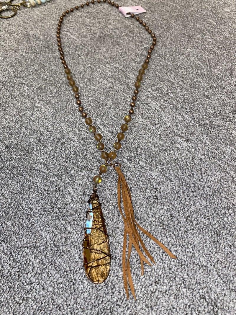 Make It Drop Necklace