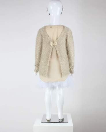 Bowed Princess Sweater