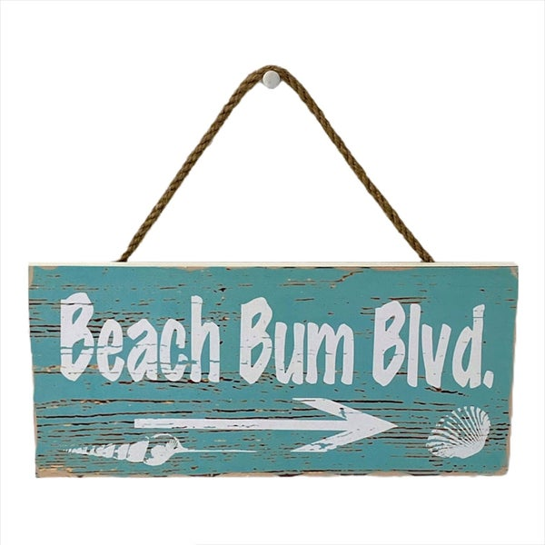 Beach Bum BLVD Wall Sign