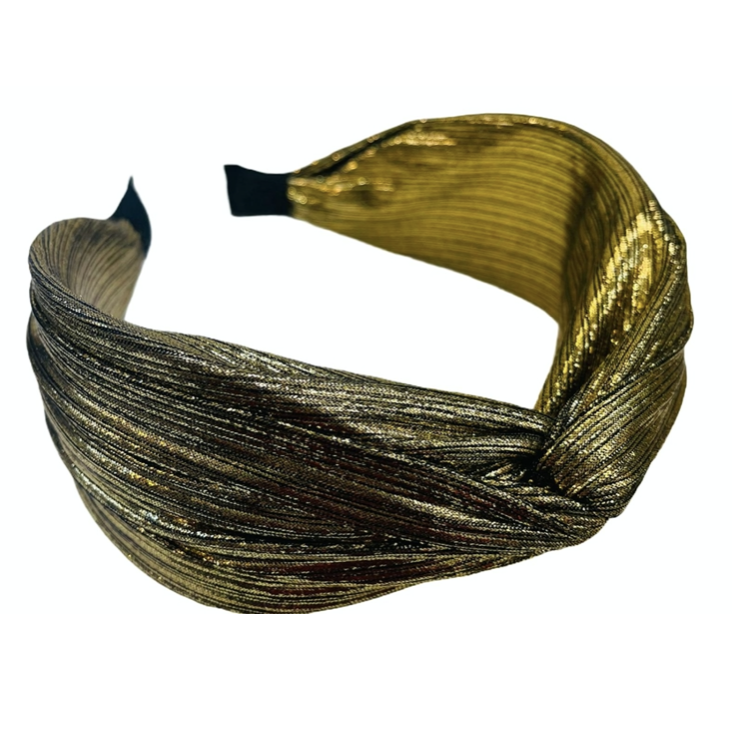 Little Shine Gold Headband