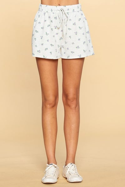 Floral Ditzy Matching Shorts
