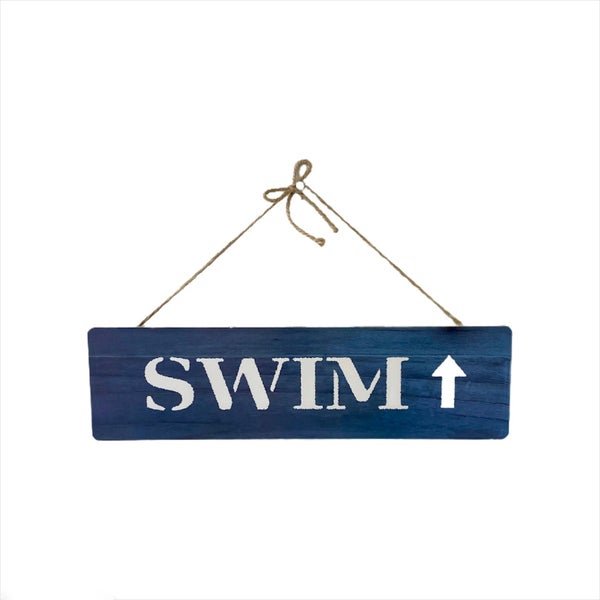 SWIM Wall Sign