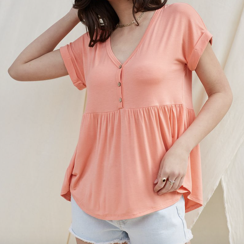 Classic Baby Doll Top