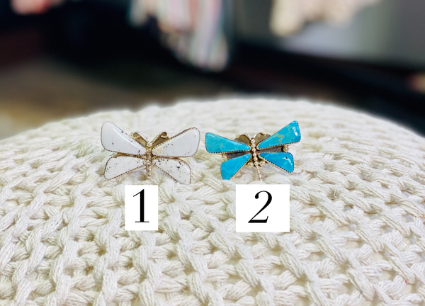 M&S Dragonfly Turquoise Ring