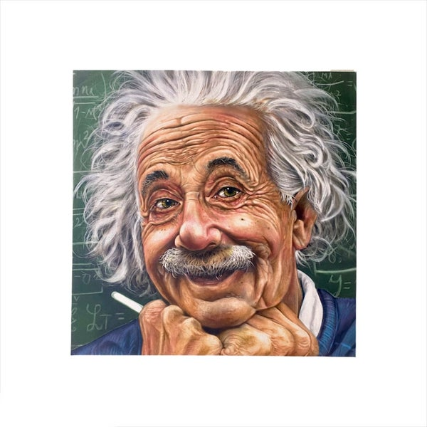 Einstein Canvas Wall Art