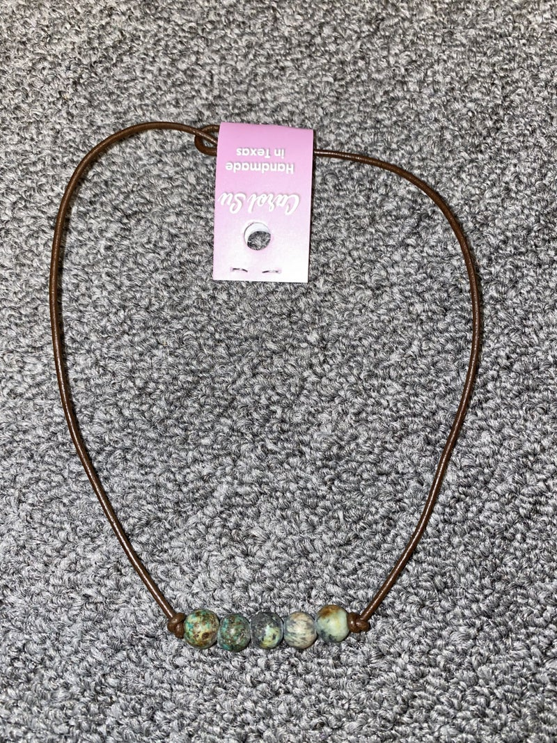 5 Beaded Necklace