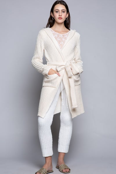 Belted Beauty Cozy Cardigan