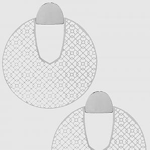 Big And Retro Earrings