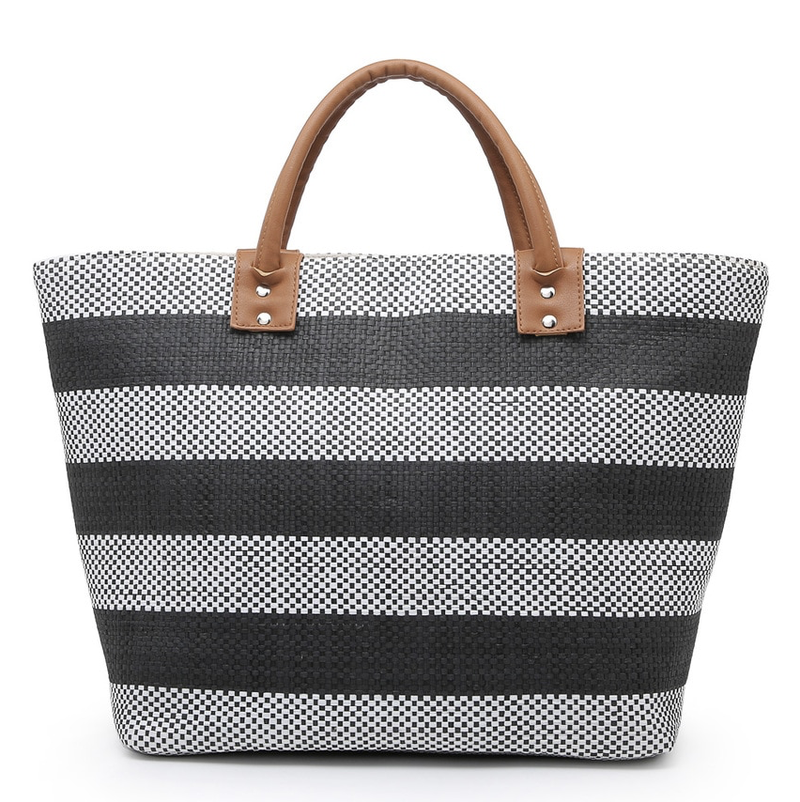 Remi Striped Tote