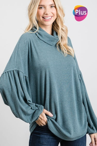 Fabulous Bubble Sleeve Top