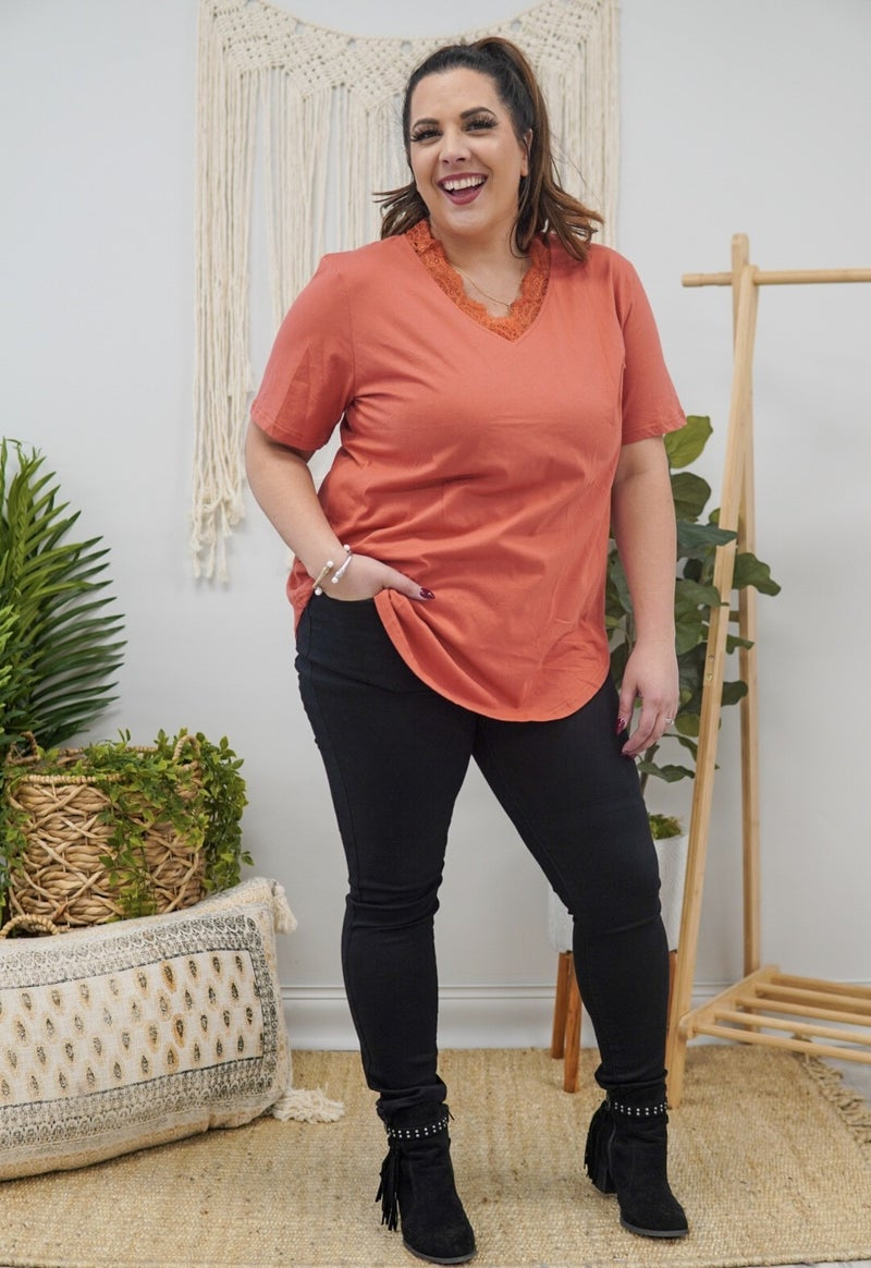 Lacey's V-Neck Top