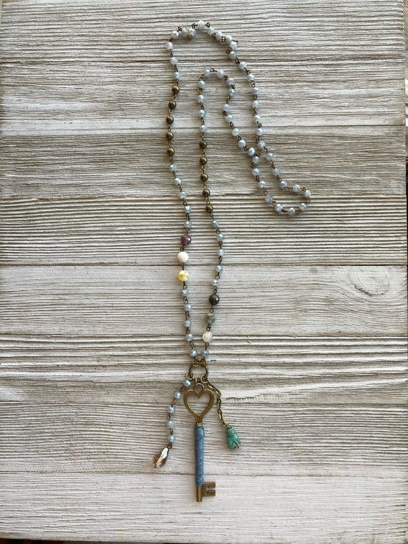 On Key Necklace