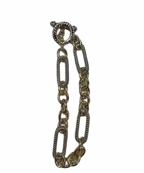 The Long and Short of It Chain Bracelet