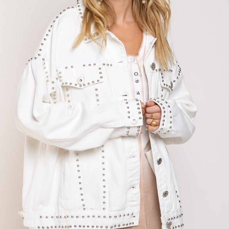 Better With Studs Jacket