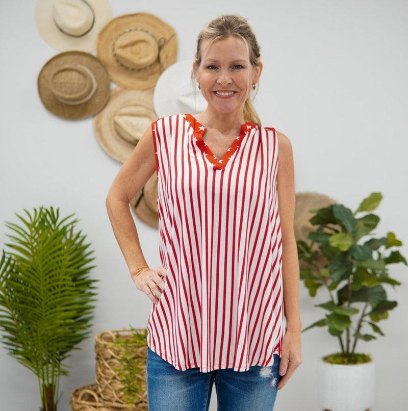 Candy Stripes Top