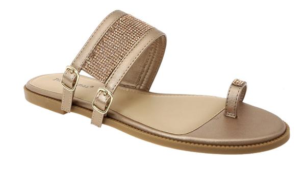 Single Toe Double Buckle Sandals
