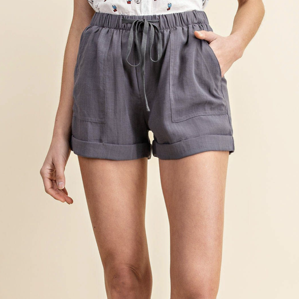 Sassy Linen Shorts