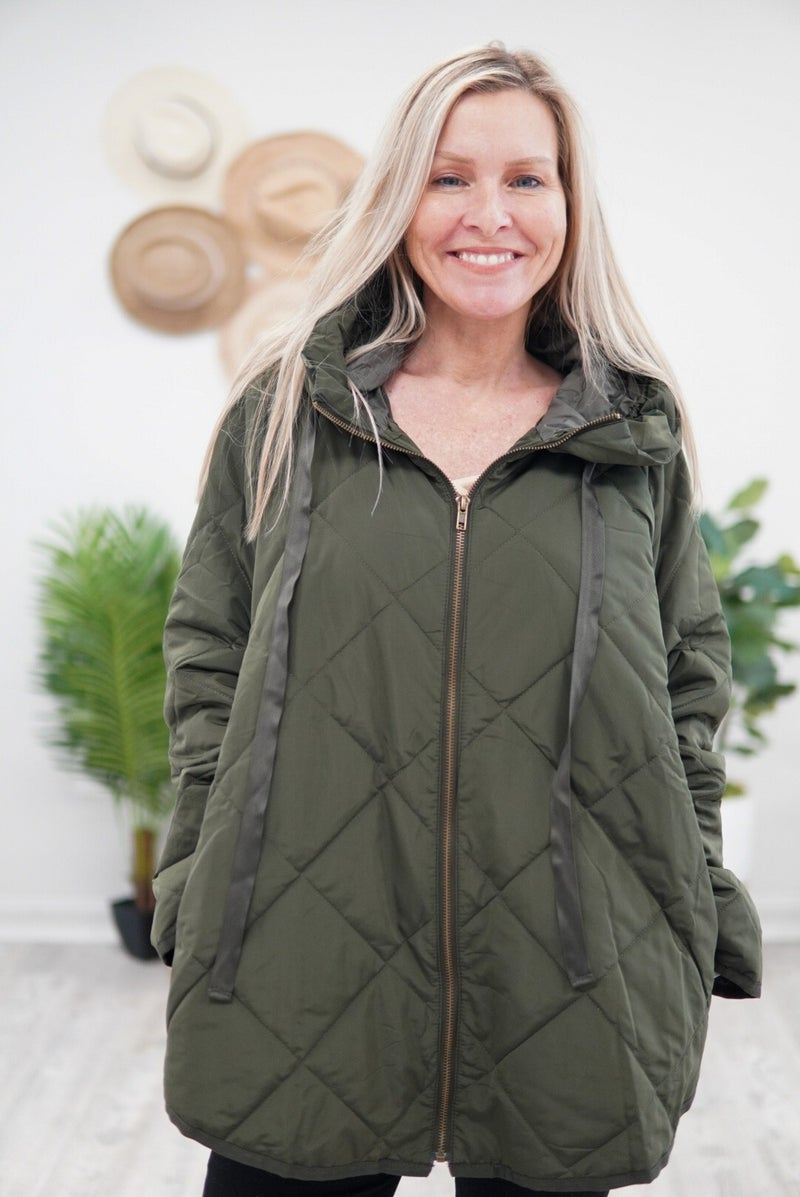 Warm & Cozy Quilted Jacket