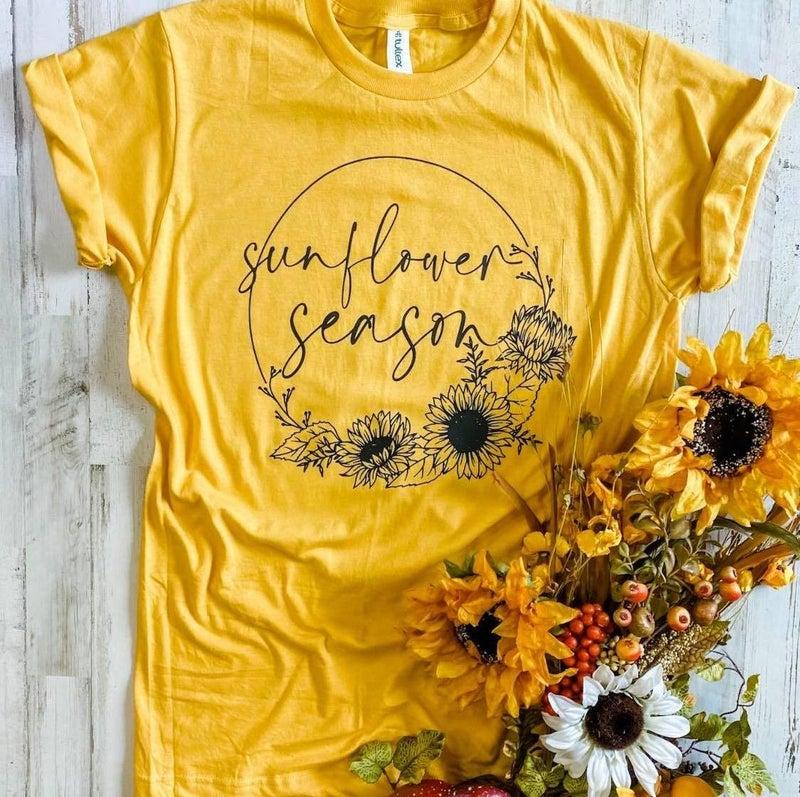 Sunflower Season Tee