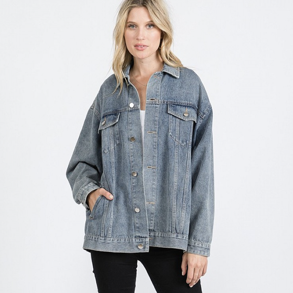 Washed And Wonderful Denim Jacket