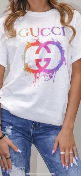 Rainbow Gucci Graphic